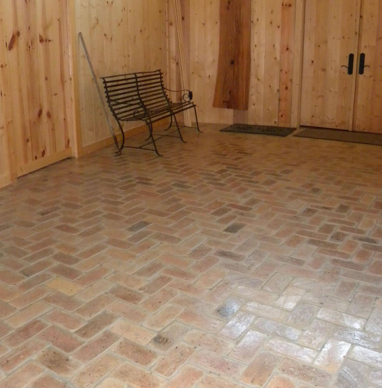 Brick Floor Tile Gallery Real Brick Wall Tiles - Brick pavers for indoor floors