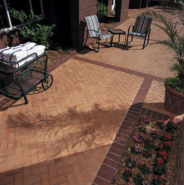 Clay Brick Flooring Gallery Thin, Outdoor Brick Floor Tiles