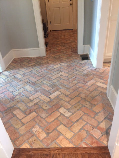 Thin Brick Walls Floor Tile