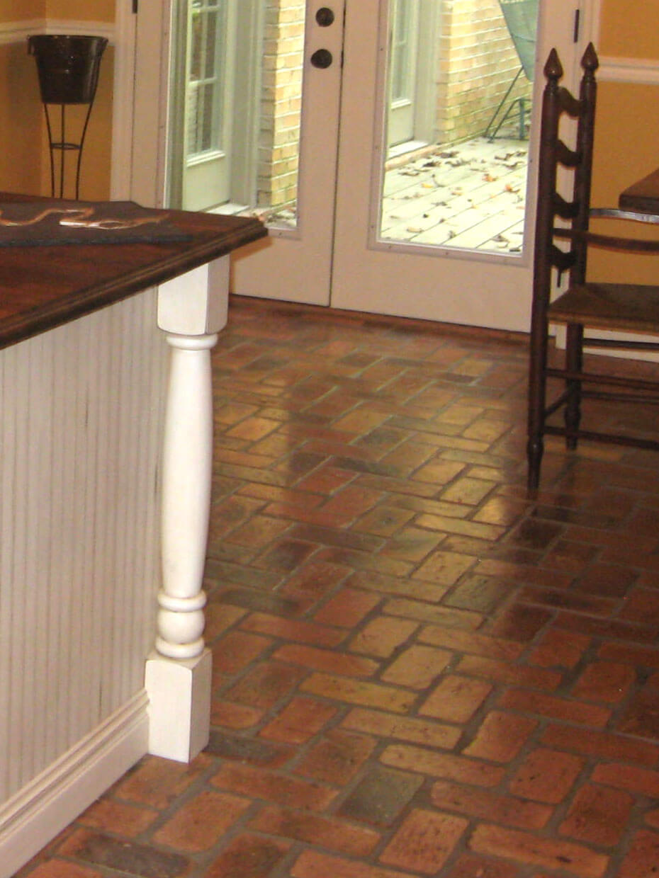 Reclaimed Brick Flooring | Thin Brick Floors | Brick Floor Tile
